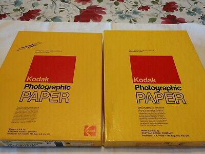 Lot of 2 Boxes Kodak Photo Paper
