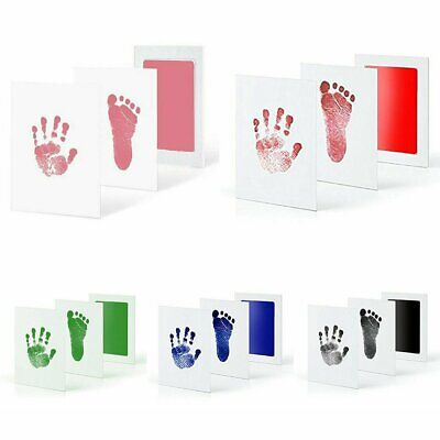 Inkless Wipe Baby Kit-Hand Foot Print Keepsake Newborn Kids Footprint Handprint