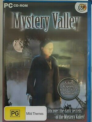 Mystery Valley - PC CD-ROM, Hidden Object Game