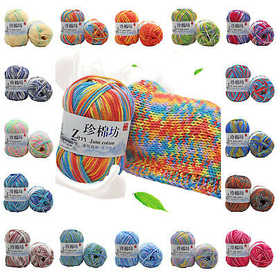 Chic 30 Colors Soft Crochet Yarn DIY Hand Milk Baby Cotton Knitting