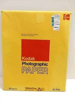 Kodak Kodabrome RC III Photographic Paper 25 Sheets 8x10 Exp 12/77 SEALED NOS