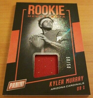 2019 Panini Nscc Nationals Kyler Murray Rookie #50/50 Vip Silver Packs