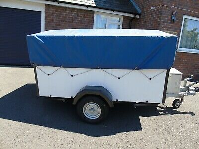 GALVANISED 6 x 4 TRAILER WITH SPARE WHEEL AND COVER