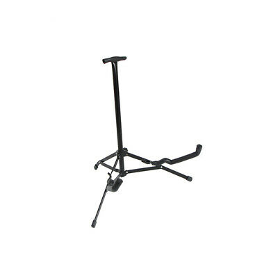 Glarry Mini Foldable Electrc Bass Guitar Stand for Display