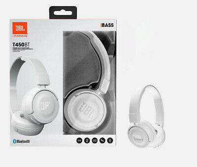 JBL Wireless On-Ear Headphones with Built-In Remote and Mic | T450BT