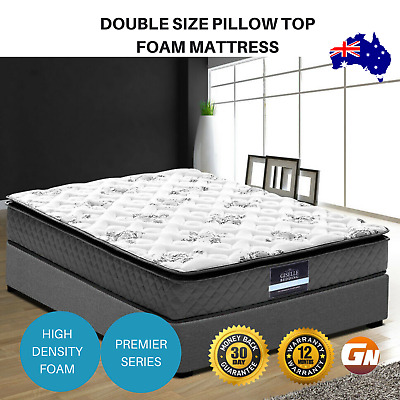 Giselle Bedding Double Size Pillow Top Foam Mattress Soft Quilting Layer