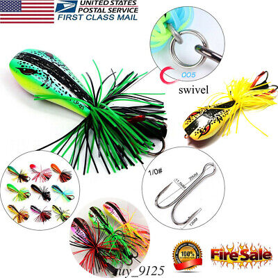 US JUMPING FROG Lure Topwater Lure Fishing Gear Accessories