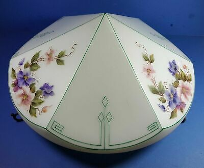 Stylish Original Vintage Art Deco Plafonnier Flycatcher Ceiling Light Shade