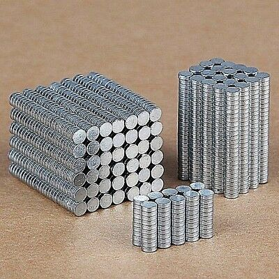 N35 Neodymium Magnets Cylinder Ring Round Super Strong Magnetic Small 2mm - 10mm