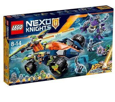lego nexo knights 70355 Aaron's Rock Climber RETIRED SET and SERIES