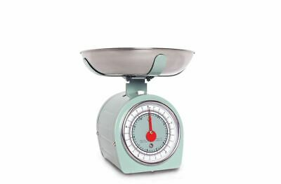 Sabichi 5kg Retro Mechanical Scales Green Traditional Scales 189639