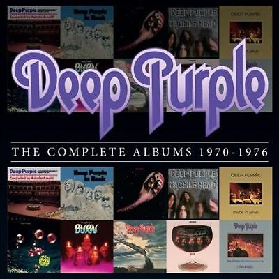 Deep Purple : The Complete Albums 1970-1976 10-Cd Box Set 70S Collection.
