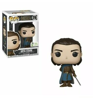 New Funko Pop Game Of Thrones Arya Stark #76 Vinyl Figure w/ Protector