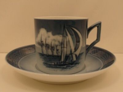 Royal Copenhagen 1911412 Tazza Cup and Saucer 2012 - Horns Reef