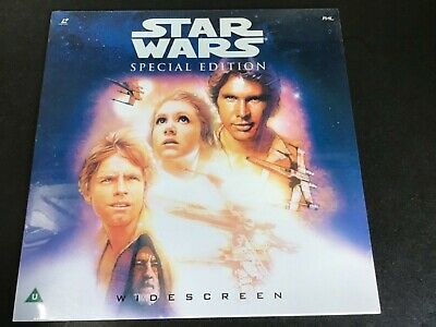 Star Wars special edition laser disc Rare ld