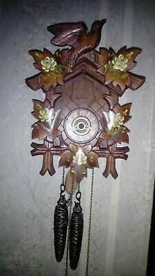 Vintage mechanical Cuckoo clock Hubert Herr, Germany