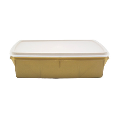 Tupperware Tuppercraft Stow N GO Gold Organizer Container