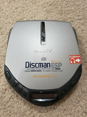 Sony D-E301 Discman Portable CD Player ESP EUC TESTED!