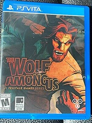 The Wolf Among Us (Sony PlayStation Vita, 2014) *pre-owned*