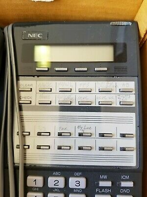 NEC DS1000/2000 22 Button with Display Speakerphone DX7NA-12TXH