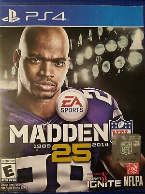 Madden NFL 25 - PlayStation 4 - PS4 - Very Good - Fast Free Shipping!
