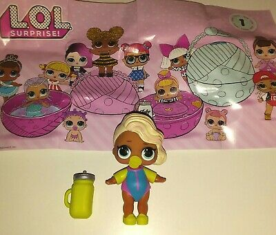 LOL Surprise Tot Doll SURFER BABE Series 1 Retired NEW AUTHENTIC US SELLER!!