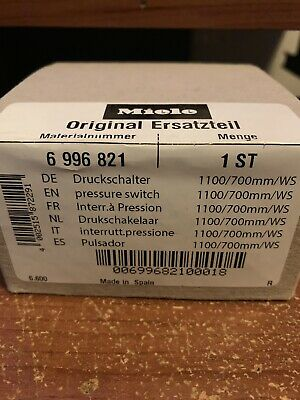 LEVEL CONTROL DISHWASHER Miele 6996821 for G1000 G2000 G4000 G5000