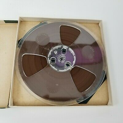 "Vintage Ampex 921 Magnetic Recording Tape | Acetate | USA | .25"" x 1800'"