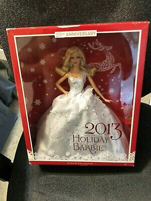 Barbie Collector 2013 Holiday Doll 25th Anniversary NEW