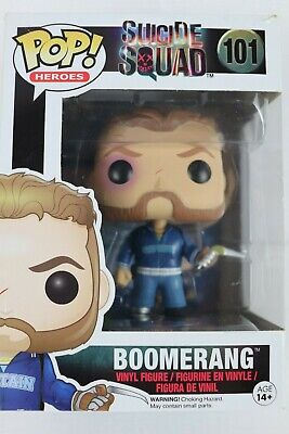 Pop Heroes Suicide Squad Boomerang Vinyl Figure Funko Collectable New in Box
