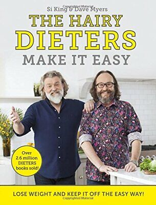 The Hairy Dieters Make It Easy: Lose weight and keep it off t New Paperback Book