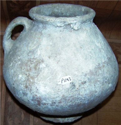 Late bronze age terra cotta conical shape pot ,Time of Moses p1193
