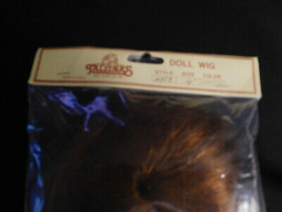 Tallinas Carrot Red Doll Wig Size 10   DL407 Style 959