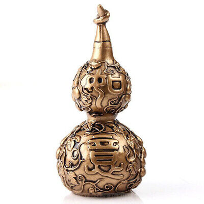 Vintage Handcrafted Resin gourd Gifts Chinese Collection office desk decoration