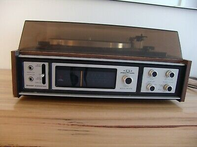 Vintage Sharp GS 5454 Solid State Record Player Tuner