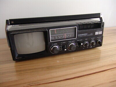 HANIMEX 531-1 TV Radio Cassette Recorder