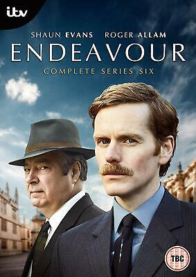 Endeavour Series 6 Complete [DVD] [2019] Free P&P 1st Class