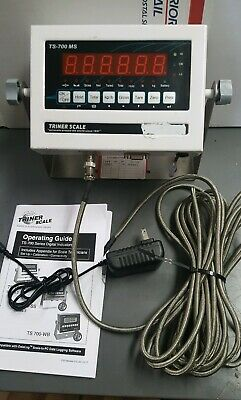 USED TRINER TS-700 MS  Scale Digital Weighing Indicator+  SURGE CUBE
