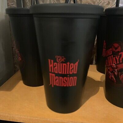 Disney Haunted Mansion 50th Hitchhiking Ghost Going Our Way Tumbler Cup New