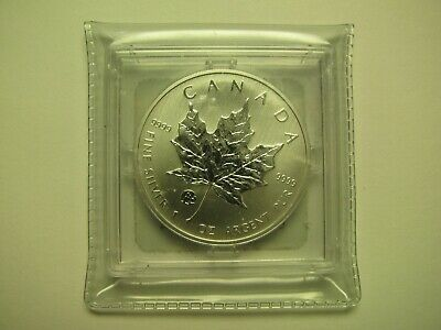 2014 Bullion $5 1oz .9999 Silver Maple Leaf SML Fabulous F15 Privy Mark Canada C