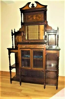 Chiffonear Rosewood inlays late Victorian