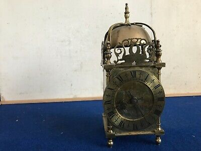 Superb, Brass, Mechanical Lantern Clock.