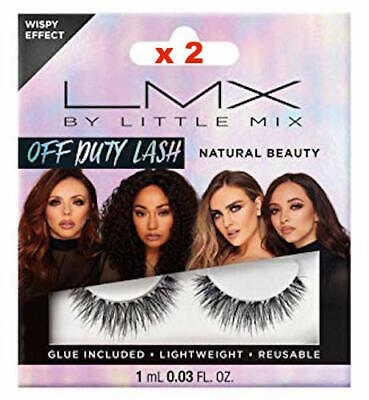 LMX By Little Mix Off Duty Natural Lashes x 2 Packs