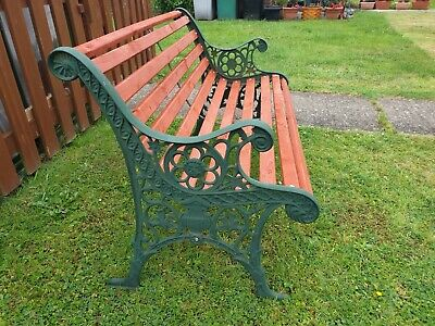 Stupendous Vintage Outdoor Wooden 3 Seat Garden Bench Park Seat With Caraccident5 Cool Chair Designs And Ideas Caraccident5Info