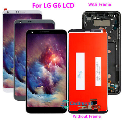 LCD Schermo Per LG G6 Display Touch Screen Digitizer Frame  Assembly Repair han2