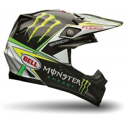 Bell Moto 9 Flex Carbon Motocross MX Helmet Monster Energy ProCircuit Adults
