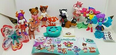 Kinder 2019, Enchantimals, EU, TR086I - DV384 - DV441, compl. set incl. all Bpz