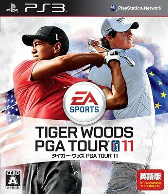 USED Game PS3 Tiger Woods PGA 11 Tour