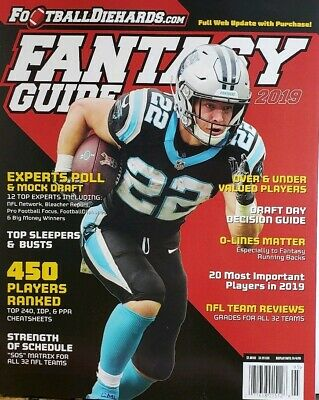Football Die Hards Fantasy Guide 2019 Draft Day Expert Polls FREE SHIPPING CB