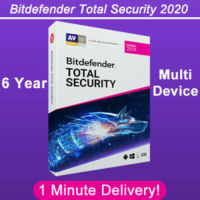 Bitdefender Total Security 2019-2020 | 6 Years | Download Link *** BIG SALE! ***